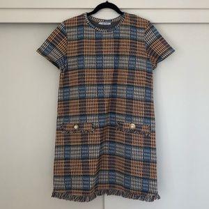 Zara Knit Shift Dress L